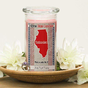 Flatlander | Home State Demonym Candle®-Home State Demonyms Jewelry Candles-The Official Website of Jewelry Candles - Find Jewelry In Candles!