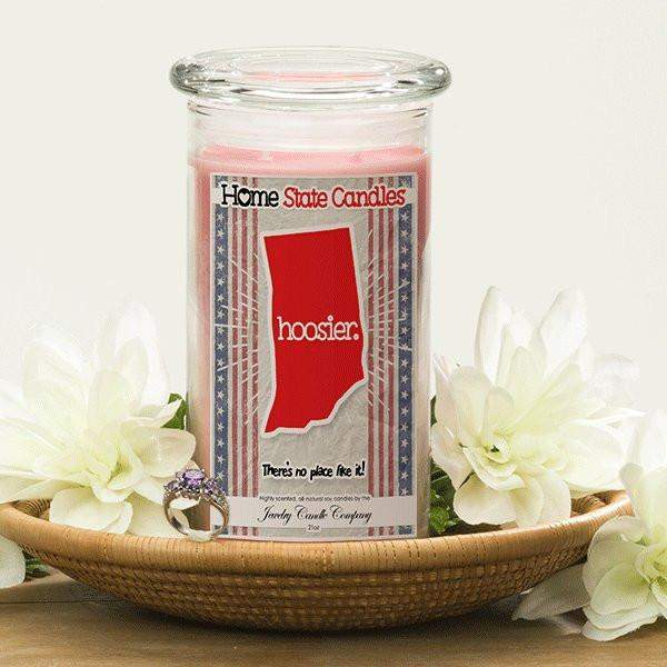 Home State Demonyms Jewelry Candles - Hoosier-Home State Demonyms Jewelry Candles-The Official Website of Jewelry Candles - Find Jewelry In Candles!