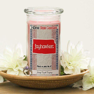 Jayhawker | Home State Demonym Candle®-Home State Demonyms Jewelry Candles-The Official Website of Jewelry Candles - Find Jewelry In Candles!
