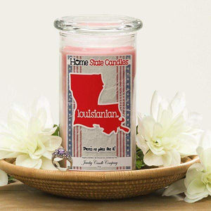 Louisianian | Home State Demonym Candle®-Home State Demonyms Jewelry Candles-The Official Website of Jewelry Candles - Find Jewelry In Candles!