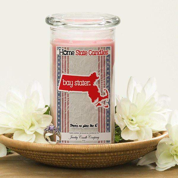 Home State Demonyms Jewelry Candles - Bay Stater-Home State Demonyms Jewelry Candles-The Official Website of Jewelry Candles - Find Jewelry In Candles!