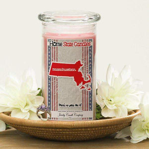 Massachusettsan | Home State Demonym Candle®-Home State Demonyms Jewelry Candles-The Official Website of Jewelry Candles - Find Jewelry In Candles!