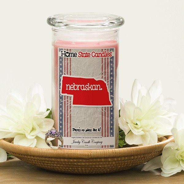 Home State Demonyms Jewelry Candles - Nebraskan-Home State Demonyms Jewelry Candles-The Official Website of Jewelry Candles - Find Jewelry In Candles!