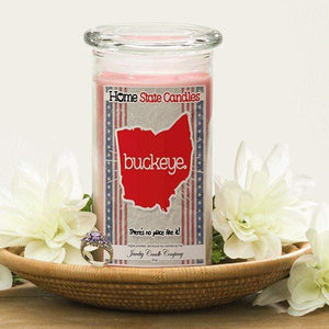 Buckeye | Home State Demonym Candle®-Home State Demonyms Jewelry Candles-The Official Website of Jewelry Candles - Find Jewelry In Candles!