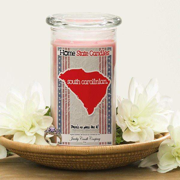 South Carolinian | Home State Demonym Candle®-Home State Demonyms Jewelry Candles-The Official Website of Jewelry Candles - Find Jewelry In Candles!