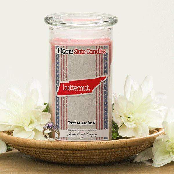 Home State Demonyms Jewelry Candles - Butternut-Home State Demonyms Jewelry Candles-The Official Website of Jewelry Candles - Find Jewelry In Candles!