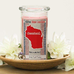 Cheesehead | Home State Demonym Candle®-Home State Demonyms Jewelry Candles-The Official Website of Jewelry Candles - Find Jewelry In Candles!