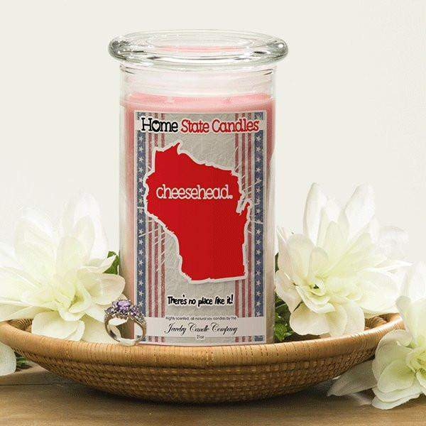 Home State Demonyms Jewelry Candles - Cheesehead-Home State Demonyms Jewelry Candles-The Official Website of Jewelry Candles - Find Jewelry In Candles!