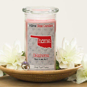 Home State Candles - Oklahoma-The Official Website of Jewelry Candles - Find Jewelry In Candles!