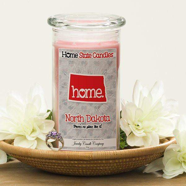 Home State Candles - North Dakota-The Official Website of Jewelry Candles - Find Jewelry In Candles!