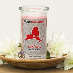 Home State Candles - New York-The Official Website of Jewelry Candles - Find Jewelry In Candles!