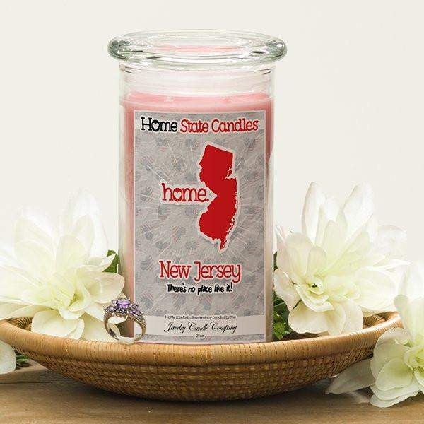 New Jersey | Home State Candle®-The Official Website of Jewelry Candles - Find Jewelry In Candles!