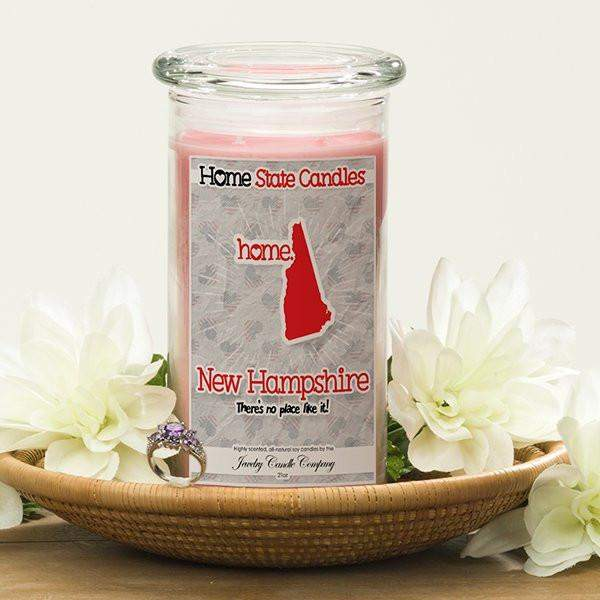 Home State Candles - New Hampshire-The Official Website of Jewelry Candles - Find Jewelry In Candles!