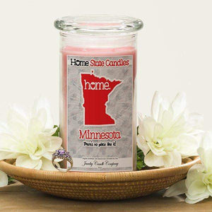 Minnesota | Home State Candle®-The Official Website of Jewelry Candles - Find Jewelry In Candles!