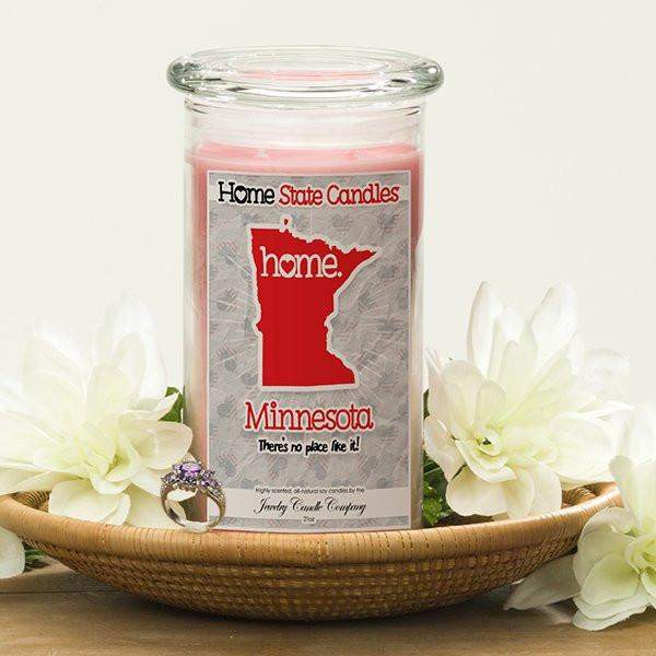 Home State Candles - Minnesota-The Official Website of Jewelry Candles - Find Jewelry In Candles!