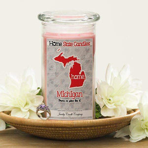 Home State Candles - Michigan-The Official Website of Jewelry Candles - Find Jewelry In Candles!