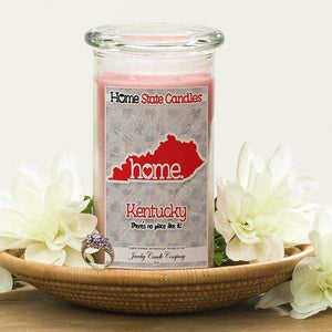 Home State Candles - Kentucky-The Official Website of Jewelry Candles - Find Jewelry In Candles!