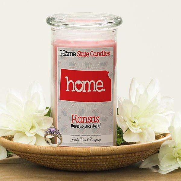 Home State Candles - Kansas-The Official Website of Jewelry Candles - Find Jewelry In Candles!