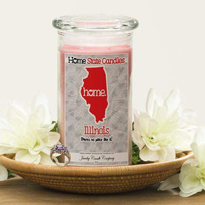 Home State Candles - Illinois-The Official Website of Jewelry Candles - Find Jewelry In Candles!