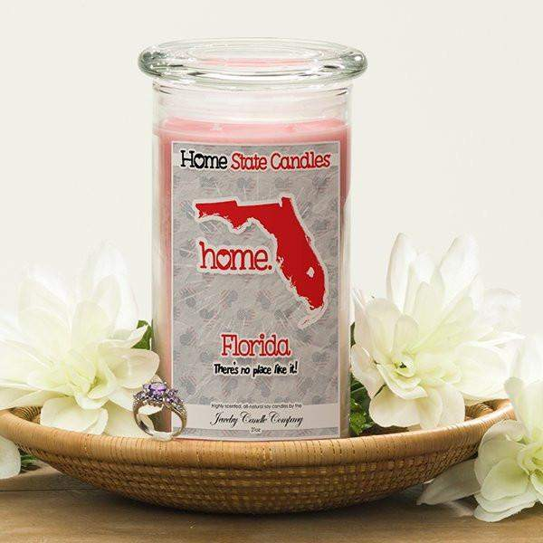 Florida | Home State Candle®-The Official Website of Jewelry Candles - Find Jewelry In Candles!