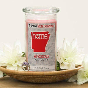 Home State Candles - Arkansas-The Official Website of Jewelry Candles - Find Jewelry In Candles!