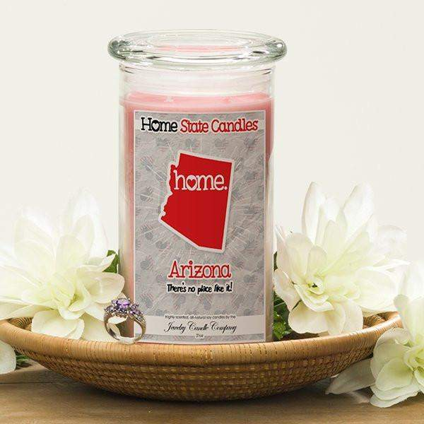 Home State Candles - Arizona-The Official Website of Jewelry Candles - Find Jewelry In Candles!