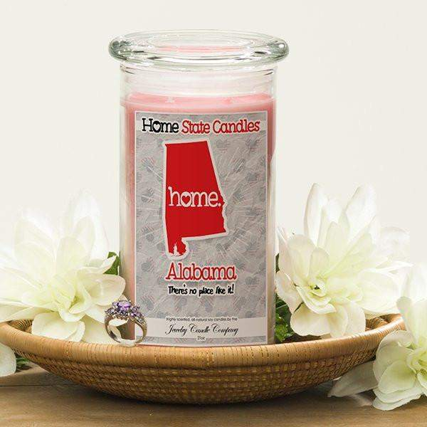 Alabama | Home State Candle®-The Official Website of Jewelry Candles - Find Jewelry In Candles!