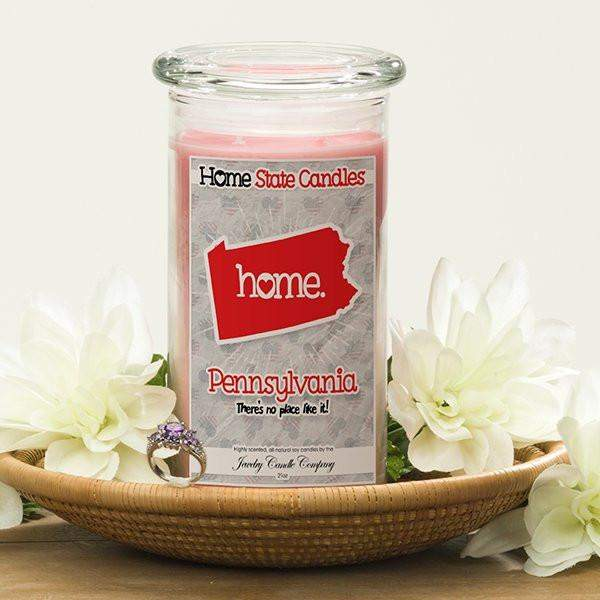 Pennsylvania | Home State Candle®-The Official Website of Jewelry Candles - Find Jewelry In Candles!