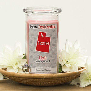 Utah | Home State Candle®-The Official Website of Jewelry Candles - Find Jewelry In Candles!