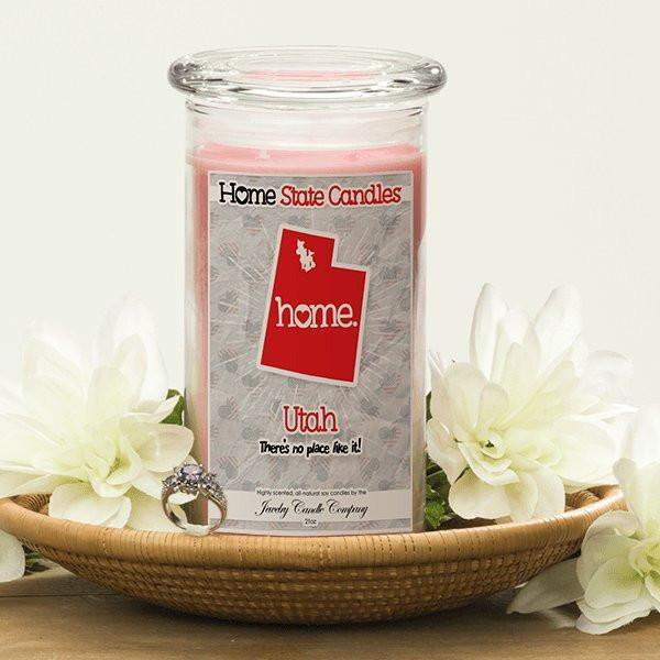 Home State Candles - Utah-The Official Website of Jewelry Candles - Find Jewelry In Candles!