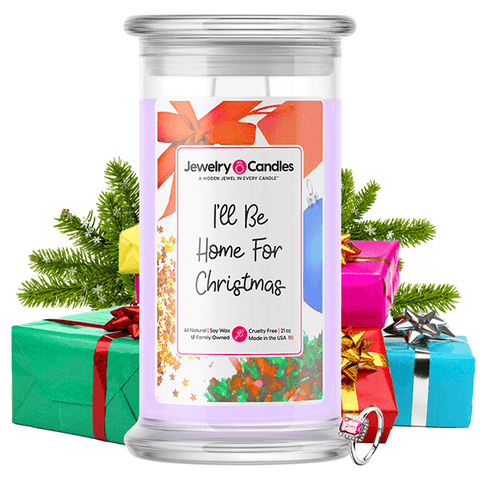 I'll Be Home For Christmas Jewelry Candle