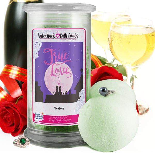 True Love - Valentine's Day Jewelry Bath Bombs-Valentine's Day Jewelry Bath Bombs-The Official Website of Jewelry Candles - Find Jewelry In Candles!