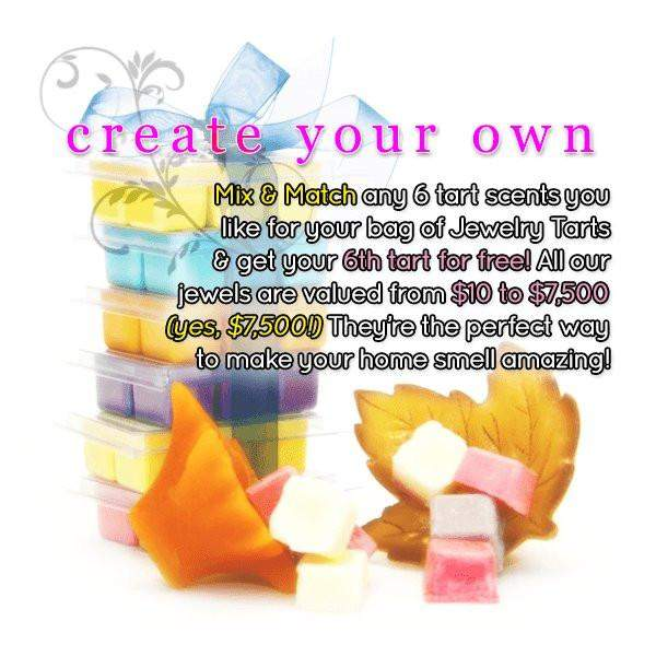 Create Your Own Custom 6 Jewelry Tart Bag - Pick SIX of your favorites!-Create Your Own Custom 6 Jewelry Tart Bag-The Official Website of Jewelry Candles - Find Jewelry In Candles!