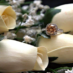 Cream Bouquet | Jewelry Roses® Bouquet-Wax Dipped Roses-The Official Website of Jewelry Candles - Find Jewelry In Candles!