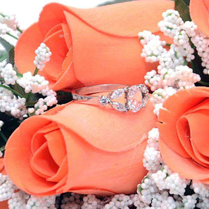 Georgia Peach Bouquet | Jewelry Roses® Bouquet-Georgia Peach Bouqet-The Official Website of Jewelry Candles - Find Jewelry In Candles!