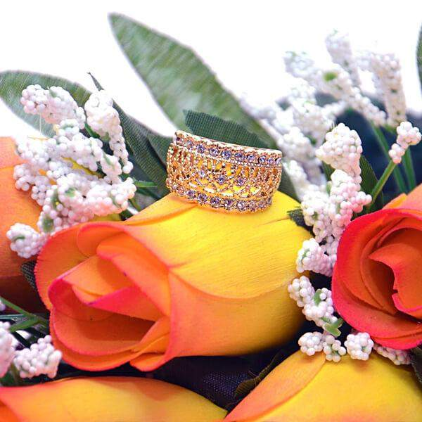 Yellow With Orange Tips Fall Wax Roses Bouquet Birthday