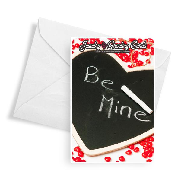 Be Mine | Valentine's Day Jewelry Greeting Card®-Jewelry Greeting Cards-The Official Website of Jewelry Candles - Find Jewelry In Candles!