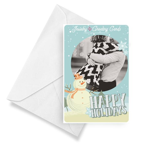 Happy Holidays | Jewelry Photo Greeting Cards®-Jewelry Greeting Cards-The Official Website of Jewelry Candles - Find Jewelry In Candles!
