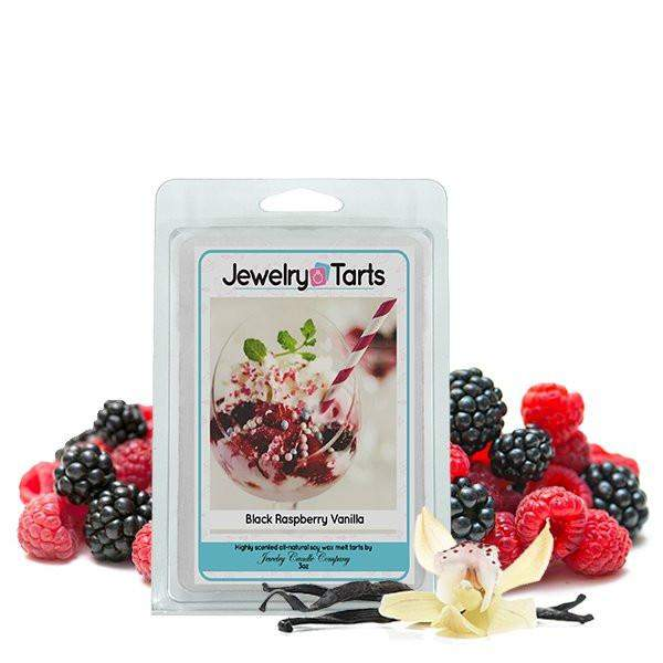 Black Raspberry Vanilla Jewelry Tarts (1 Jewelry Tart WITH A Surprise Jewel!)-Jewelry Tarts With Jewelry-The Official Website of Jewelry Candles - Find Jewelry In Candles!