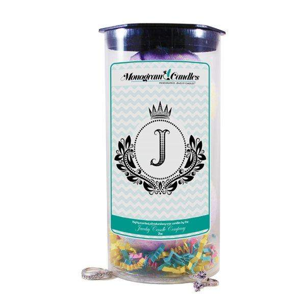 Letter J | Monogram Bath Bombs-Jewelry Bath Bombs-The Official Website of Jewelry Candles - Find Jewelry In Candles!