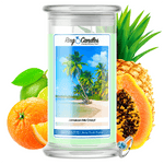 Jamaican Me Crazy! Ring Candle