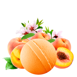 Just Peachy Dollar Bath Bomb