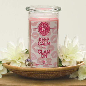 Keep Calm And Glam On - Keep Calm Candles-Keep Calm Candles-The Official Website of Jewelry Candles - Find Jewelry In Candles!