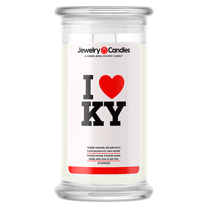 I Love KY Love Candle