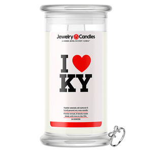 I Love KY Jewelry Love Candle
