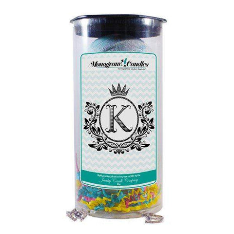 Letter K | Monogram Bath Bombs-Jewelry Bath Bombs-The Official Website of Jewelry Candles - Find Jewelry In Candles!