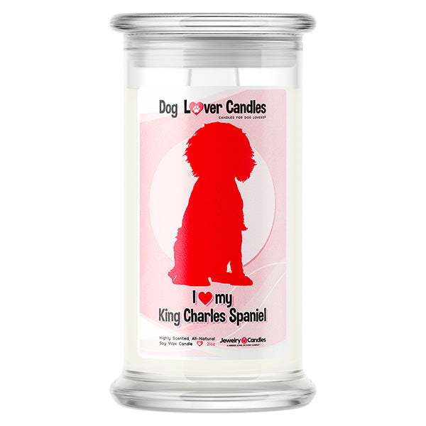 King Charles Spaniel Dog Lover Candle