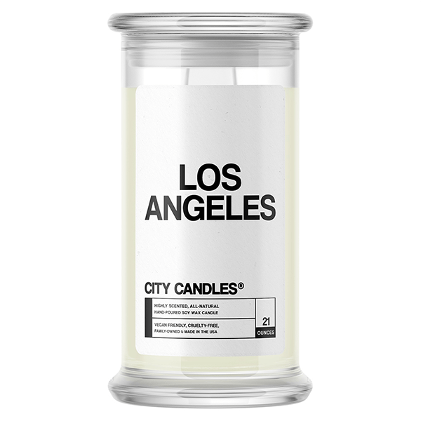 Los Angeles City Candle
