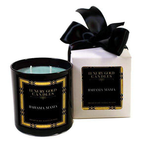 Bahama Mama Luxury Gold Candles-Luxury Gold Candle-The Official Website of Jewelry Candles - Find Jewelry In Candles!