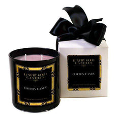 Carnival Cotton Candy Luxury Gold Candles